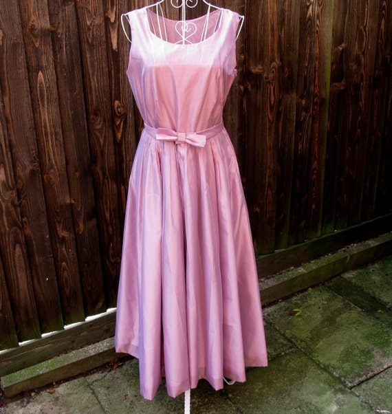 US Size Evening Ballerina Vintage Pink UK Party Dress Vintage 8 Size Ashley Laura Laura Dress Dress Dress Dress 12 Dress Ashley nfBvqXw7