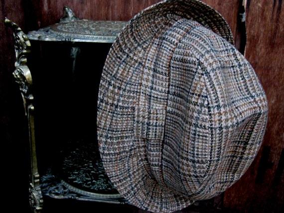 Gala Forest Trilby, Scottish Trilby, Wool Trilby,