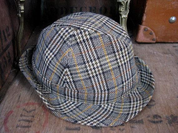 Failsworth Trilby, Checked Trilby, Mens Trilby Hat