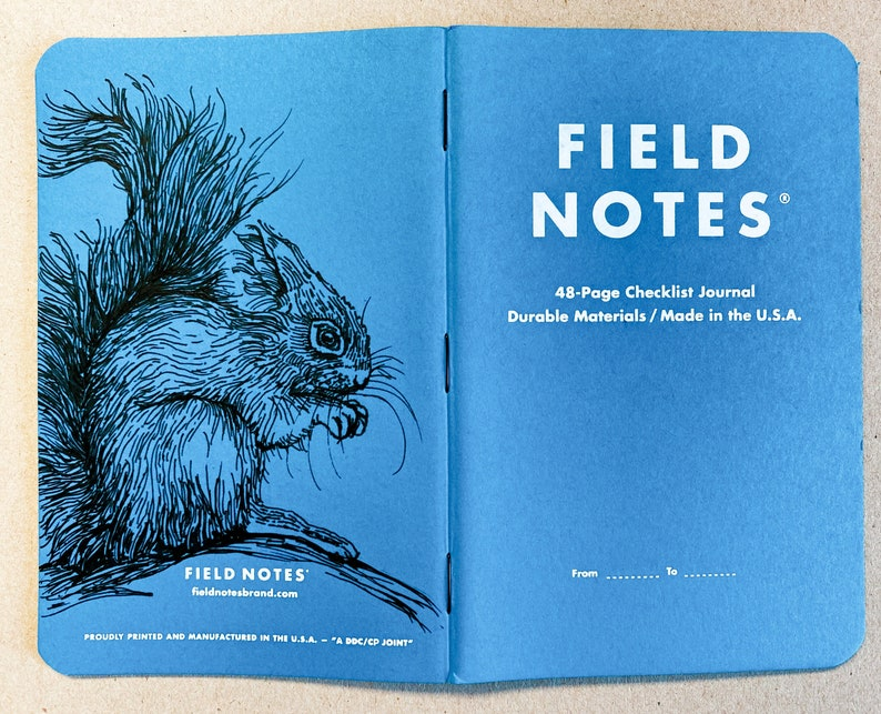 Notebook 216 Field Notes Resolution Edition image 0