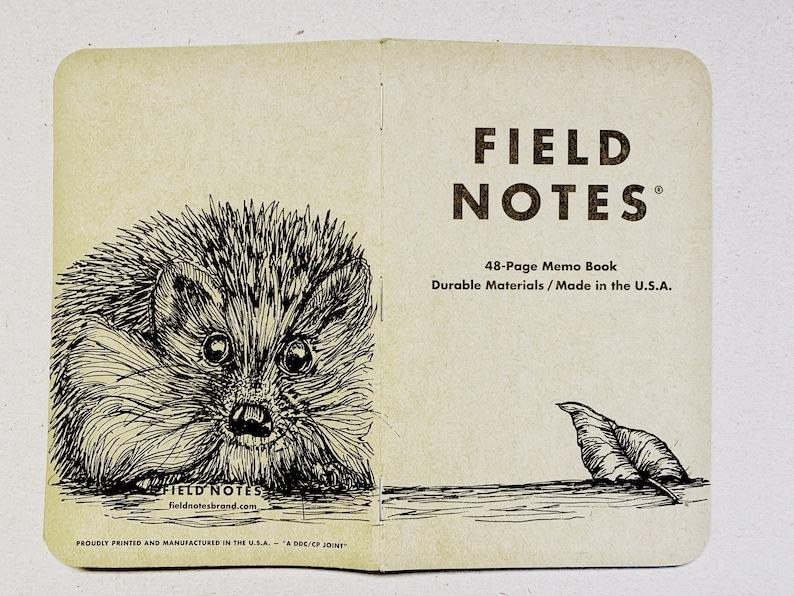 Notebook 206 Field Notes Unikat image 0