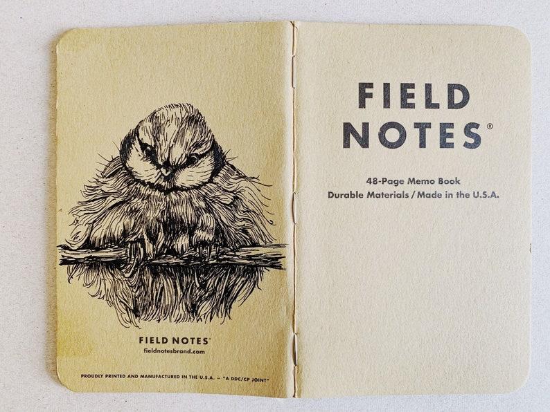 Notebook 191 Field Notes Unikat image 0