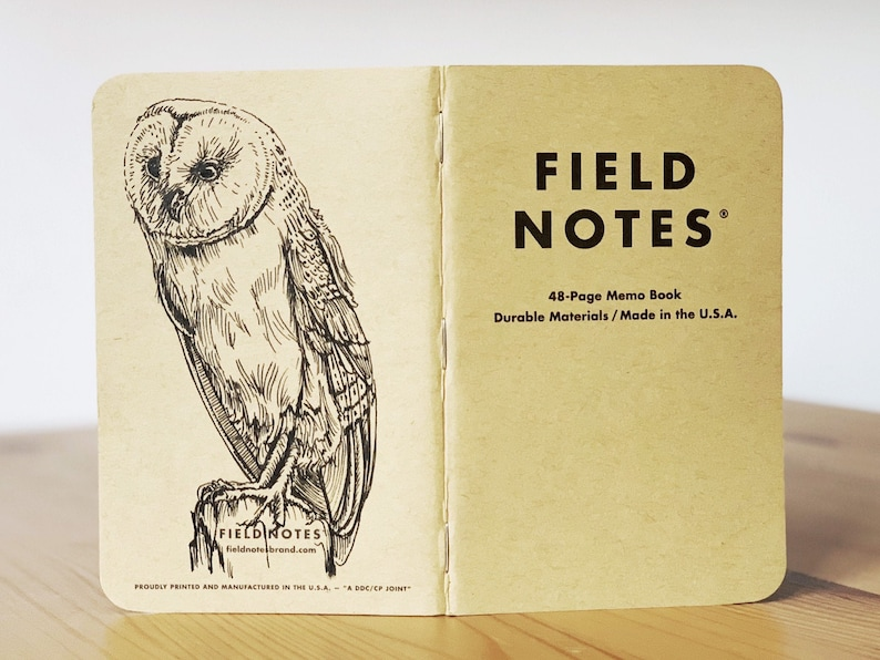 Notebook 189 Field Notes Unikat image 0