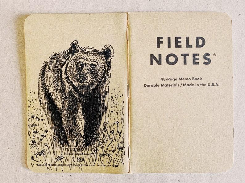 Notebook 196 Field Notes Unikat image 0