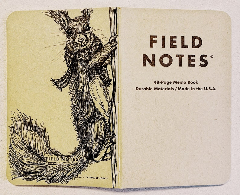 Notebook 205 Field Notes Unikat image 0