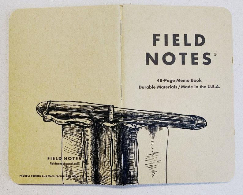 Notebook 214 Field Notes Unikat image 0