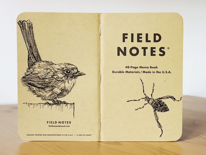 Notebook 188 Field Notes Unikat image 0