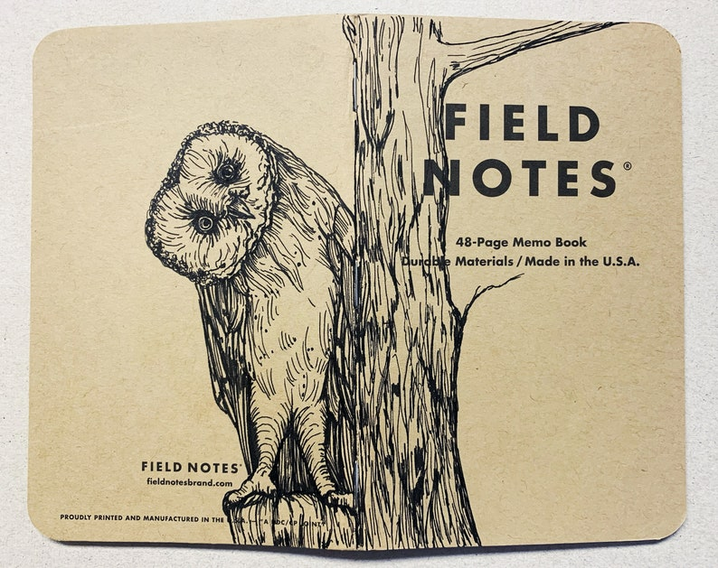 Notebook 213 Field Notes Unikat image 0