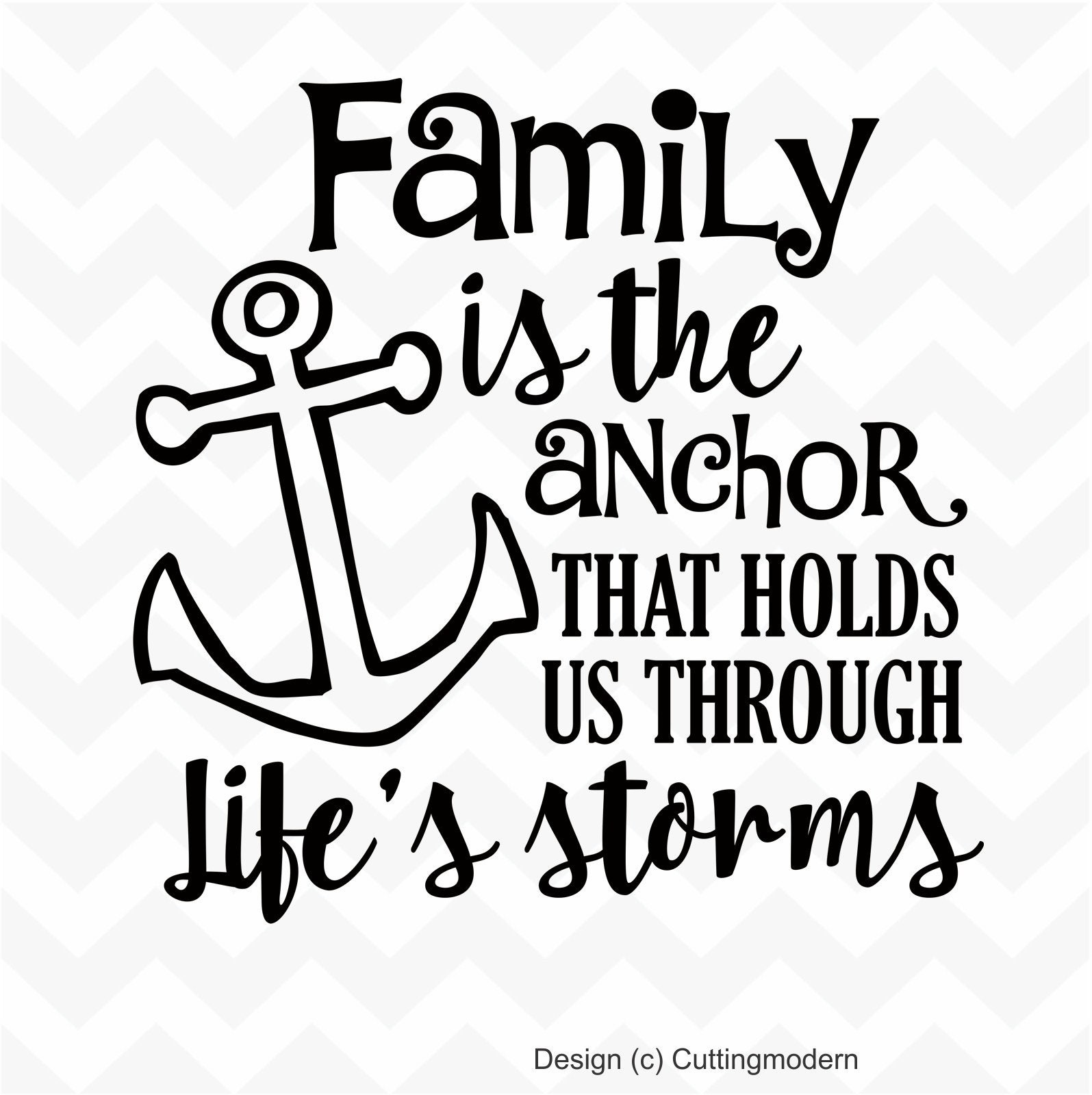 Stacking Bracelet Sympathy Gift Family Quote Family Bracelet Family Is Our Anchor Bracelet Family Holds Us Through Life\u2019s Storms