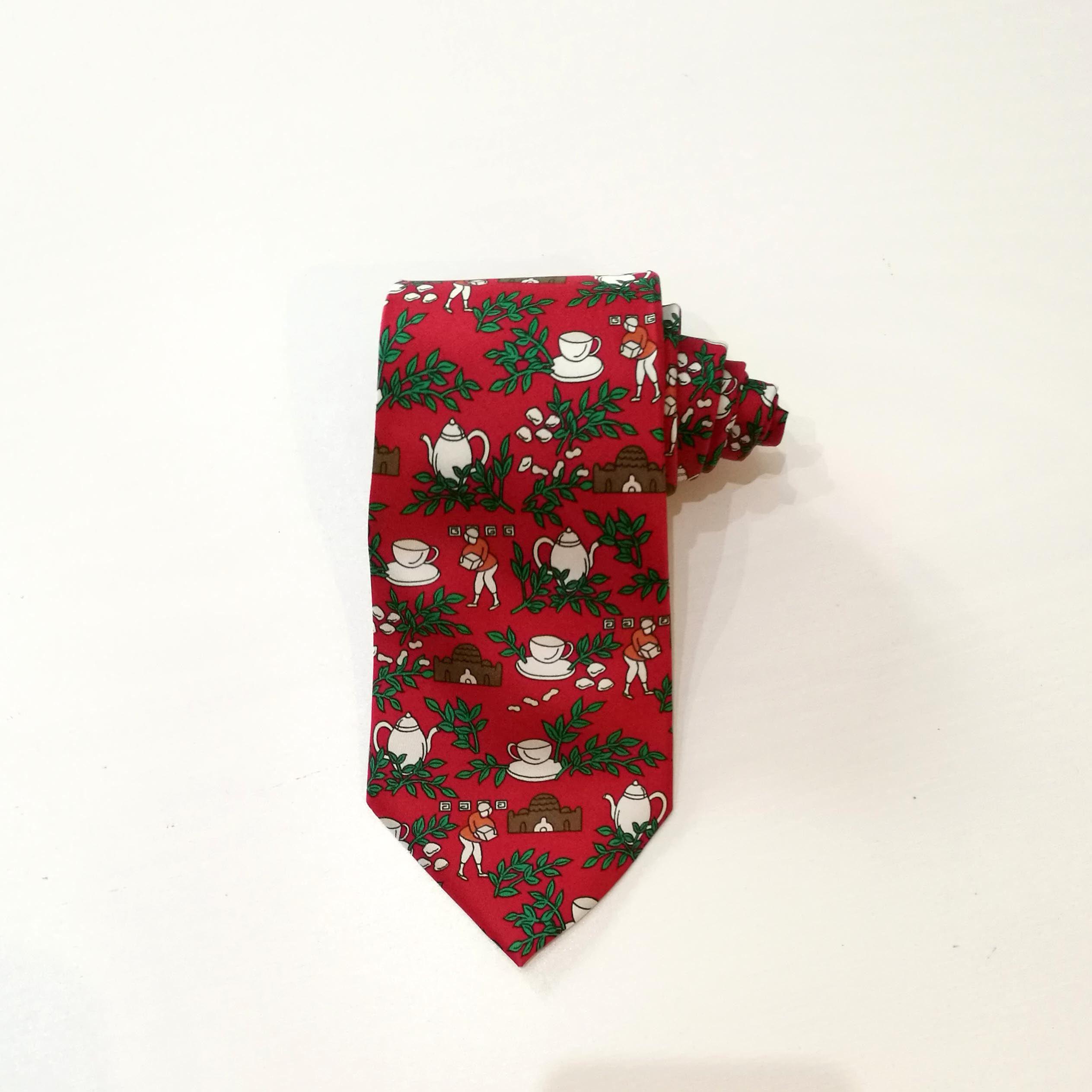 5249c14075f0 Hermès vintage tie. Rare Hermes tie. Necktie Hermes serial | Etsy