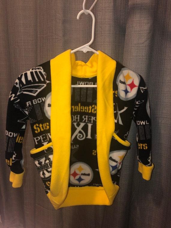 best sneakers 181e8 a0bdc Kids Size 6 Fleece Steelers Cardigan
