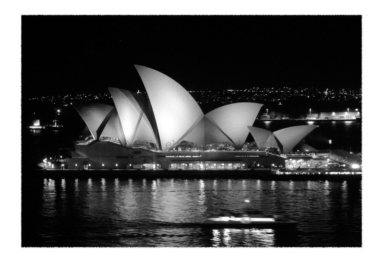 Sydney opera house black white wall art sydney australia travel photography opera house night photography home decor architecture