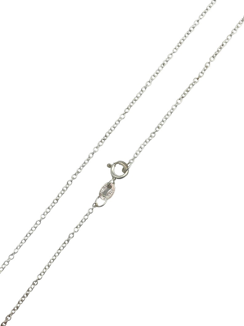 Dainty Layering Necklace Round Cable Necklace 16/'/' or 18/'/' Wholesale Bulk Necklace 925 Sterling Silver Rolo Chain 1mm Jewelry Making