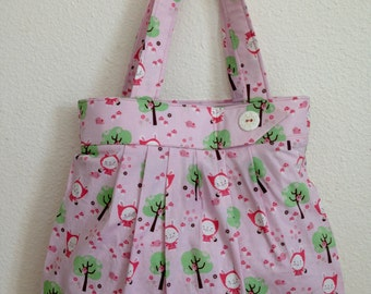 Little Bunny Red Riding Hood Tote