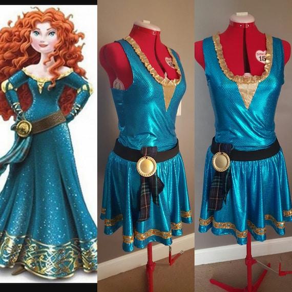 Princess Merida Disney Brave Inspired Running Halloween Etsy