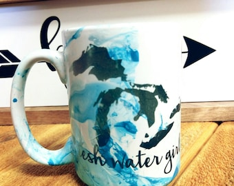 Fresh Water Girl 15oz mug