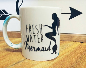 Fresh water mermaid 11oz mug