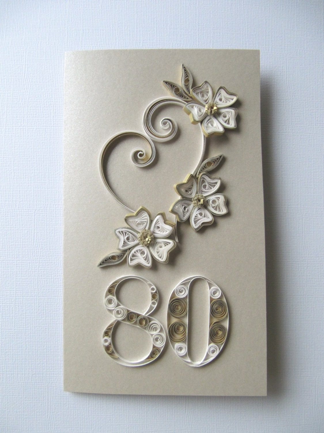 Happy 80th Birthday Greeting Card Wishes