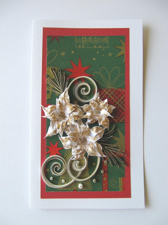 carte carte cadeau no l ooak no l f licitation carte de etsy. Black Bedroom Furniture Sets. Home Design Ideas