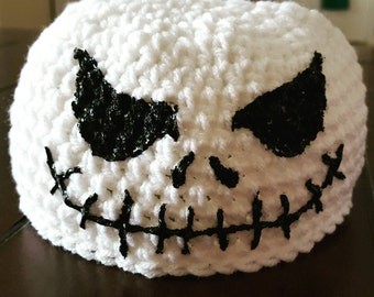 Jack Skellington Crochet Hat