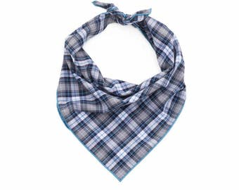 Aspen Plaid Dog Bandana - Tie On Dog Bandana