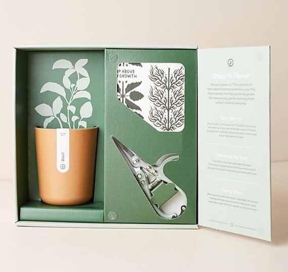 Harvest | Grow Kit | Live Well Gift Set