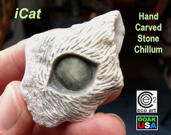 Stone Walrus Chillum hand carved in USA