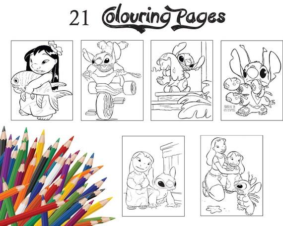 Niños colorear páginas 21 clasificados páginas de colorear de   Etsy