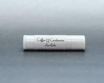 Coffee and Cardamom Lip Balm | Lip Balm | Herbal Lip Balm | Natural Lip Balm