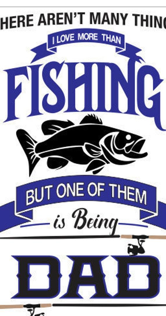 Fishing Dad Svg File Bass Fish Svg File Bass Fishing Cricut Etsy