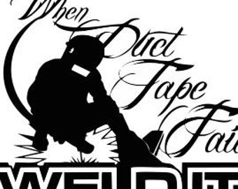 Welding SVG Cutting File