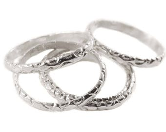 Bizarre Layer rings _06 (Silver)