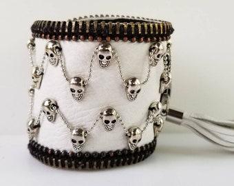 Mercury White Skull