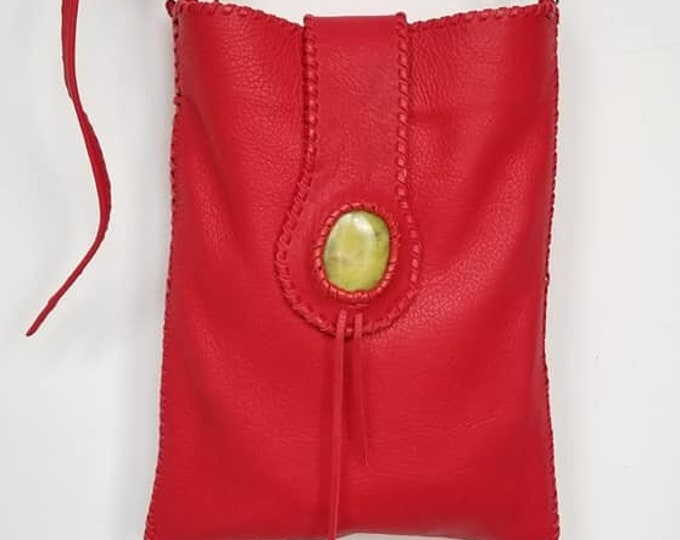 The Little Red Leather Bag