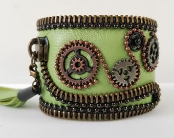 Lime Green Steampunk 2