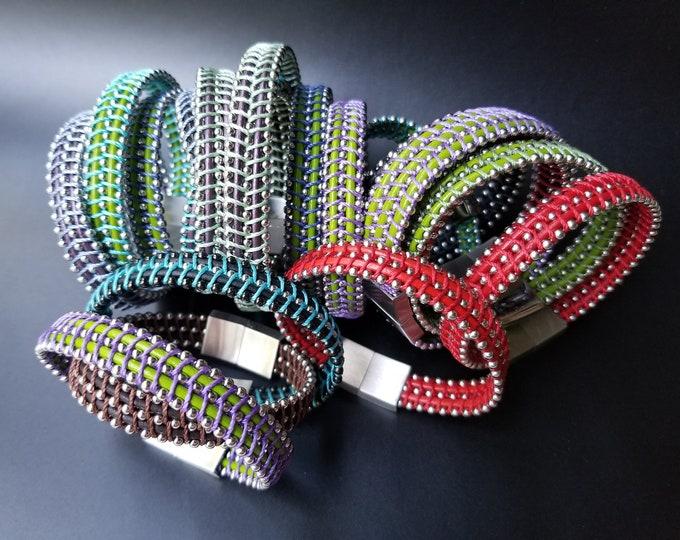 Fermi Leather Bracelets