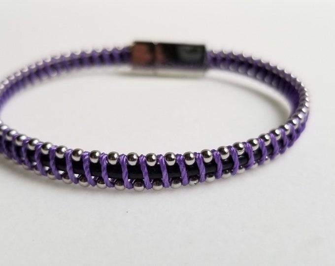 Eenny, Meeny Tiny Little Purple Bracelet