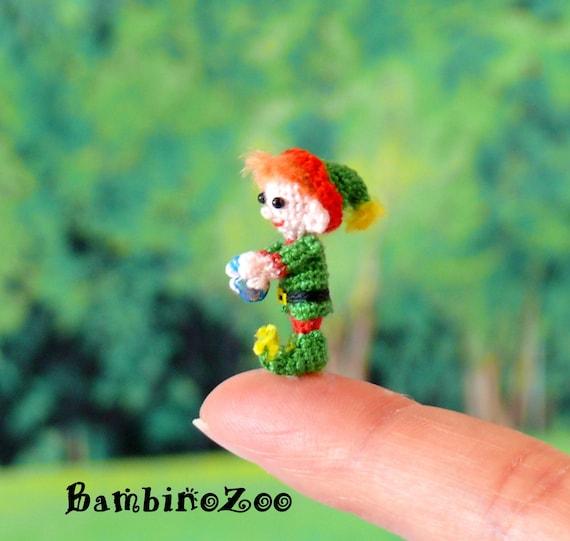 Weihnachten Elf Mini Amigurumi Häkeln Elf Mit Kostenlosen Etsy