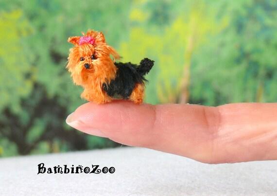 Cute Little Yorkshire Terrier (Yorkie) Amigurumi by doggohandmade ... | 403x570