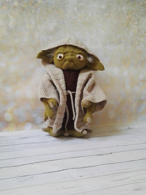 Yoda Der Meister Der Jedi Star Wars Amigurumi Häkeln Etsy