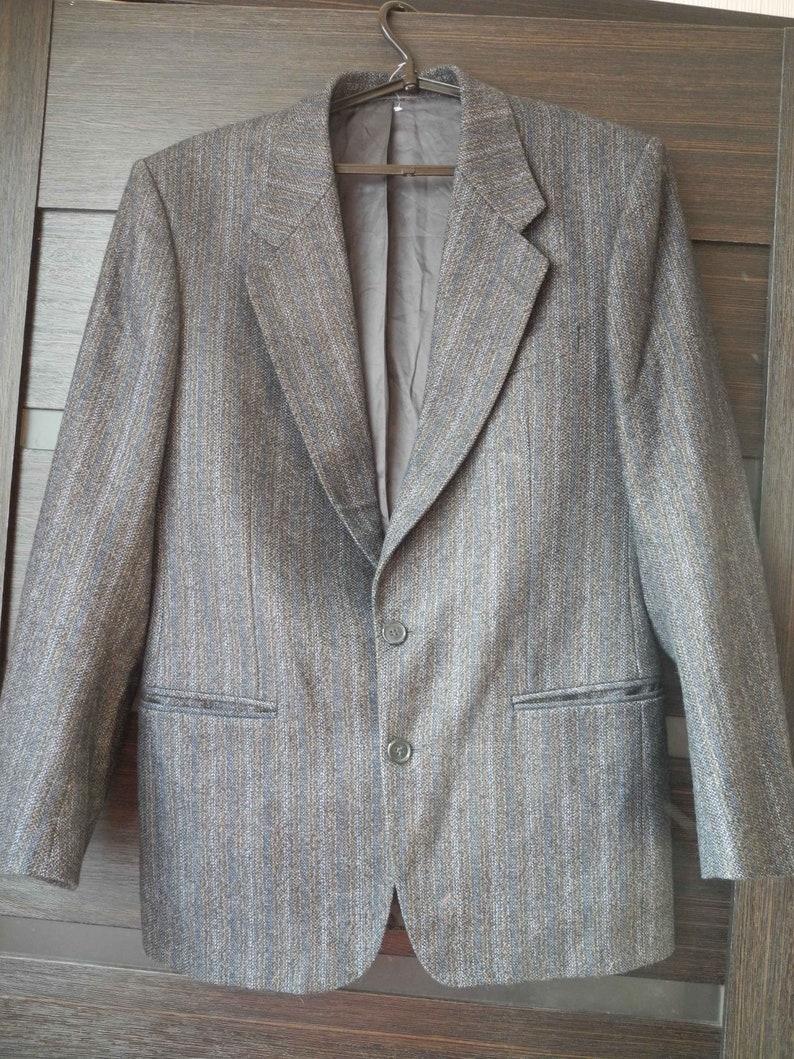 online store 1b5b6 22e49 Mens Blazer Jacke Prandina Wollmantel Herren Vintage Formal Blazer Anzug  blazer