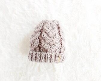 0b484b228b2 Taupe Folded Brim Hat