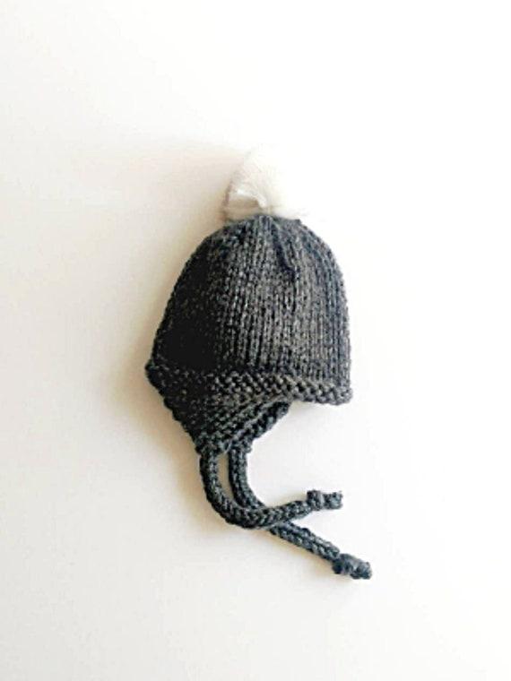 More Colors Dark Gray Earflap Hat Ear Flap Hat Faux Fur  102994b159b8