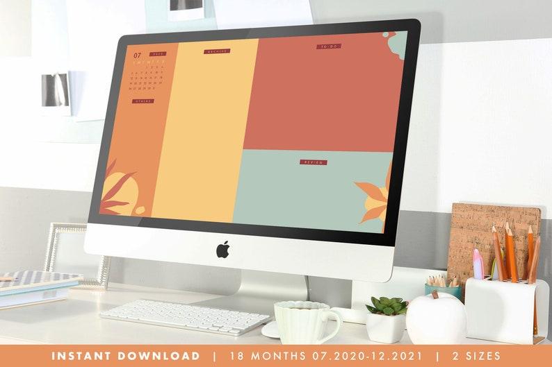 Minimalist Computer Desktop Wallpaper Organizer with ...