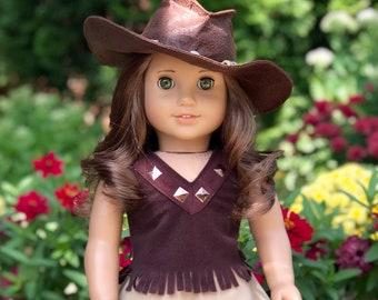 80527eeecc465 Doll cowgirl hat | Etsy