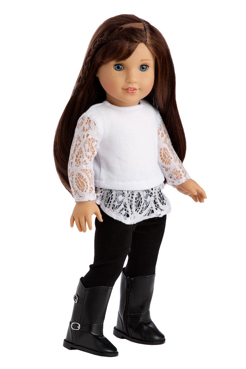 Just Fun  Clothes for 18 inch American Girl Doll  White image 0