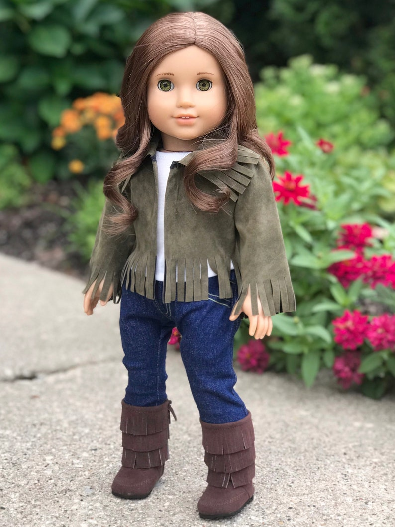 7501dc818 Siege Jacket Doll Clothes for 18 inch American Girl Doll 4