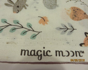 Magic Moon Forest Creatures  Nursery Cotton-Priced Per 1/2 Yd-Free Shipping