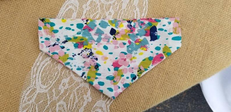 Dog collar bandanna Dog Collar Bandana image 0