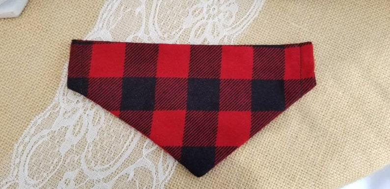 Dog Collar Bandana Dog Collar Bandanna Over the collar image 0